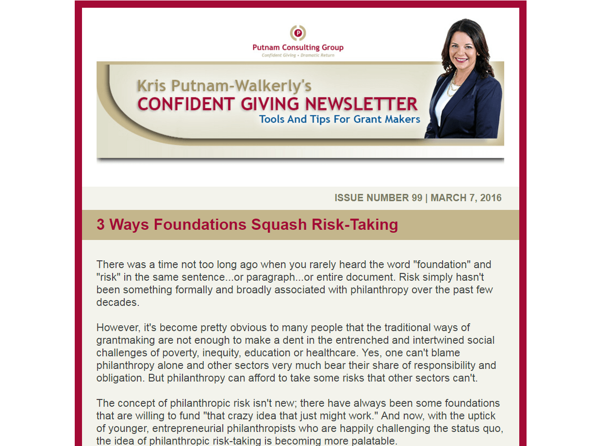 3 Ways Foundations Squash Risk-Taking