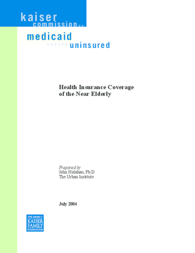 Health Insurance Coverage of the Near Elderly